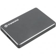 1TB (TS1TSJ25C3N) Ultra Slim Externi Hard Disk Sivi